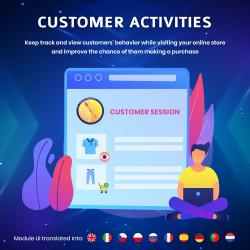 Customer Activities - Track/View customer behavior