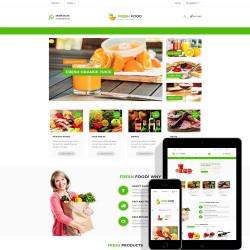 Fresh Food – Specific Prestashop Theme for Food & Restaurant Stores