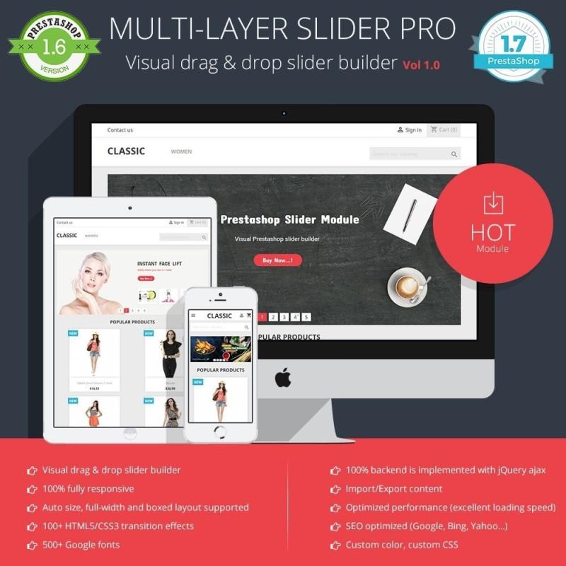 Slider PRO – Prestashop slider module