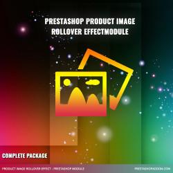 Product image rollover free module for Prestashop