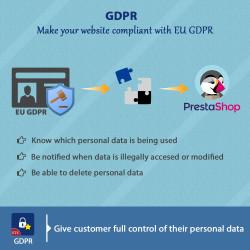 Prestashop GDPR Compliance module